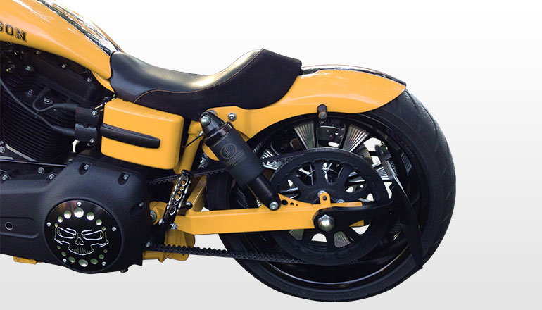 Side Mount License Plate For Harley Davidson Dyna Models