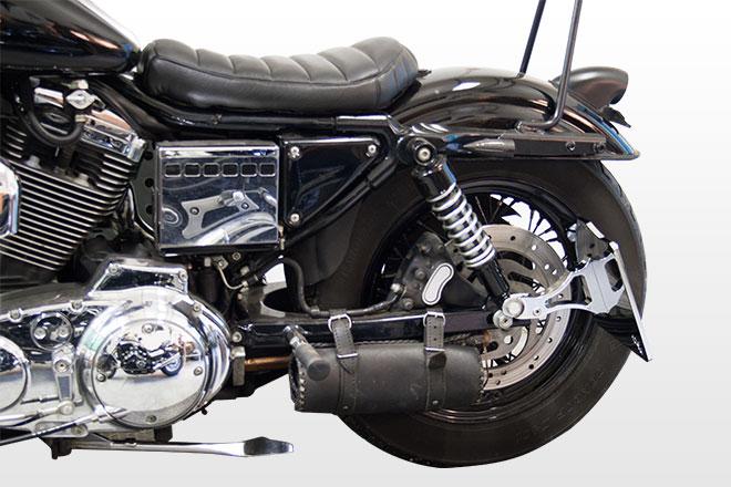 Side Mount License Plate For Harley Davidson Sportster